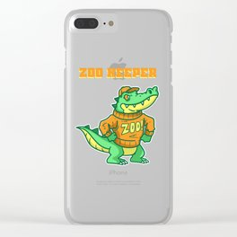 Zoo, Animal, Pet Clear iPhone Case