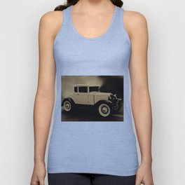 Ford Model A Hotrod Unisex Tank Top