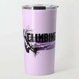 Rock Climbing - Female Travel Mug