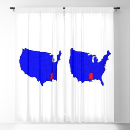 State of Mississippi Location Blackout Curtain