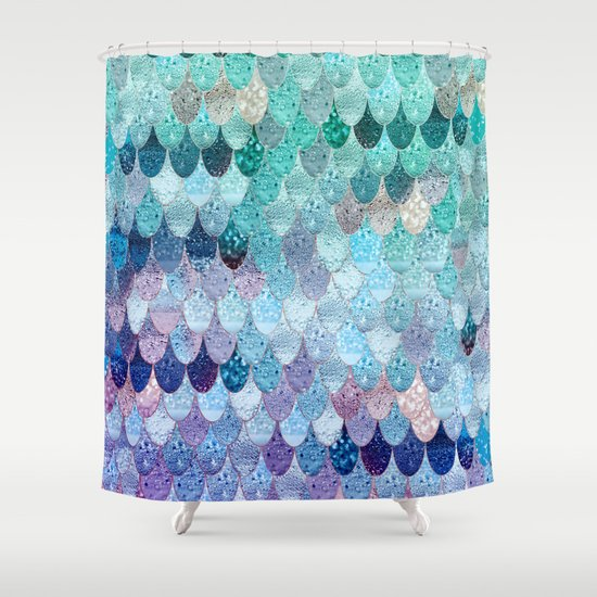 summer mermaid ii shower curtainmonika strigel | society6