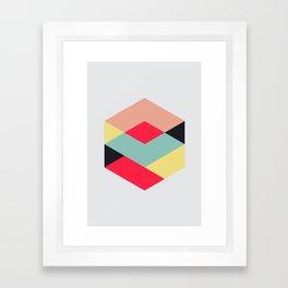 Hex series 3.1 Framed Art Print