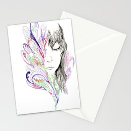 Sketch Two - Peacock Stationery Cards