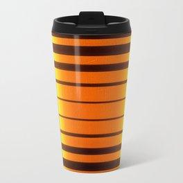 Stained Glass Light Art No.06 Geometric Design Travel Mug