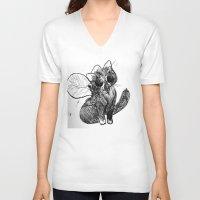 buzz lightyear V-neck T-shirts featuring Buzz by Christine Eglantine