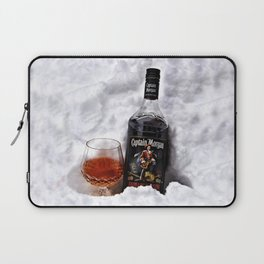 Ice Cold Captain Morgan Rum Laptop Sleeve