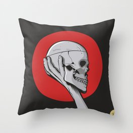 Skull Hamblet  Throw Pillow