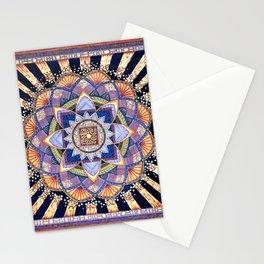 Radiant Light Beams Stationery Cards