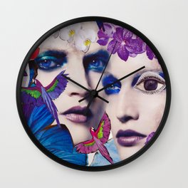 The Bluemood Wall Clock