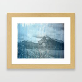 Blue Blue Skies Framed Art Print