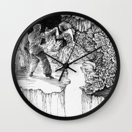 rescue at midnight Wall Clock