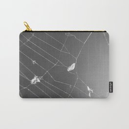 Fluid Nature - Spider's Lunch - garden photography Carry-All Pouch
