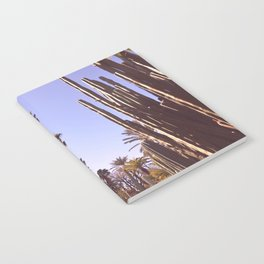 Palm trees, cactus and summer Notebook