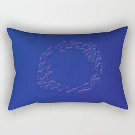 H2 'O' Rectangular Pillow
