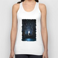 doors Tank Tops featuring Doors Of Tardis by alifart