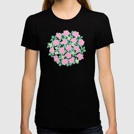 Hibiscus and Plumeria T-shirt
