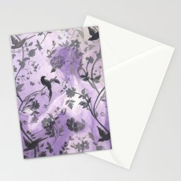 Wallflower (in Violet) Stationery Cards