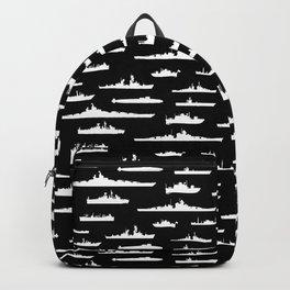 Battleship // Black Backpack