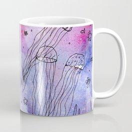 Whimsical Jellyfish Coffee Mug