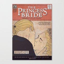 The Princess Bride Comic Style Print Canvas Print