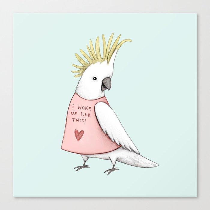 Pretty Cockatoo Canvas Print