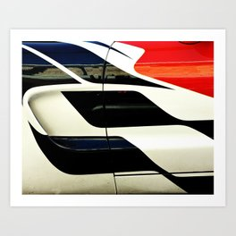 Car Door Geometric Abstract Art Print