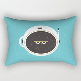 The Spaceman on Earth Rectangular Pillow