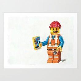 Follow the Instructions Art Print
