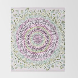 Intricate Spring Throw Blanket