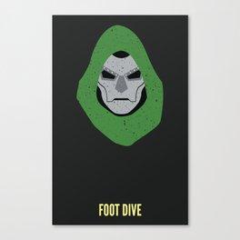 Dr. Doom - Foot Dive Canvas Print