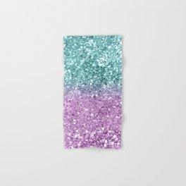 Mermaid Girls Glitter #6 #shiny #decor #art #society6 Hand & Bath Towel