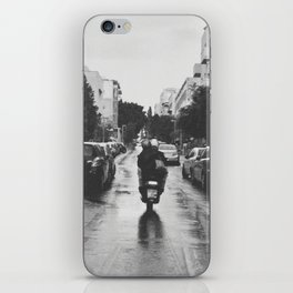 Couple in a Vespa iPhone Skin