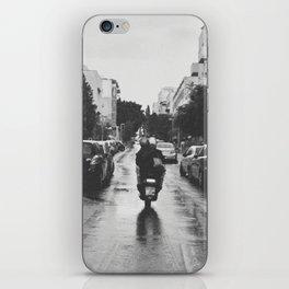 Couple in a Vespa iPhone Skin