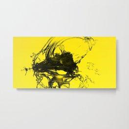 3D yellow dream Metal Print