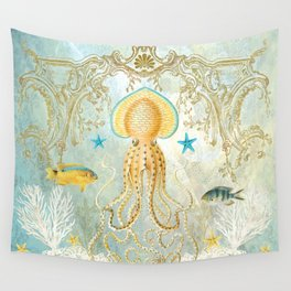Octopus Wall Tapestry