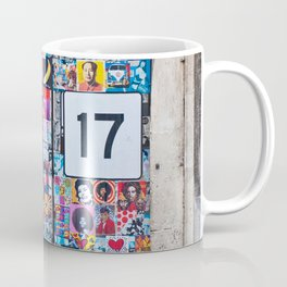The Secret behind the Door Number 17 of Catania - Sicily Coffee Mug