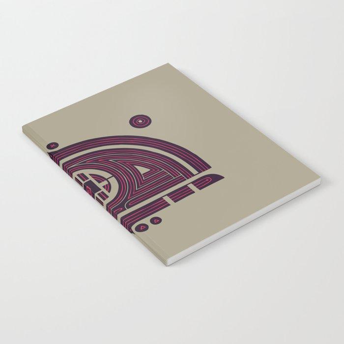 Neon Flux Notebook