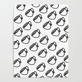 The Coffee Cup IIII Poster