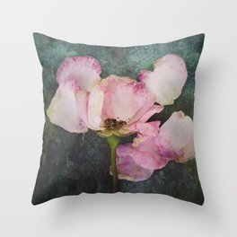 Wilted Rose II Throw Pillow
