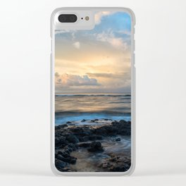 Sunrise, Poipu, Kauai Clear iPhone Case