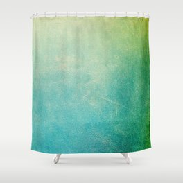 Jade Ombre Shower Curtain