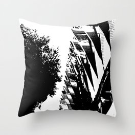 Life Geometry Throw Pillow