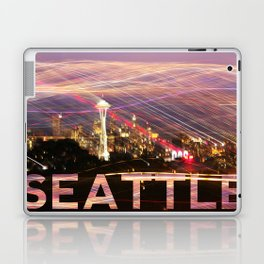 Seattle long exposure  Laptop & iPad Skin