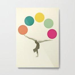 Gymnastics II Metal Print