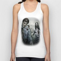 the walking dead Tank Tops featuring Zombie by Joe Roberts