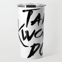 Tae-Kwon-Do Travel Mug