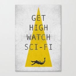 watch sci-fi Canvas Print