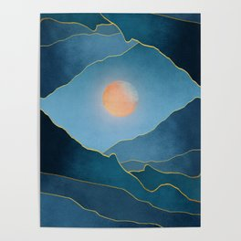 Surreal sunset 03 Poster