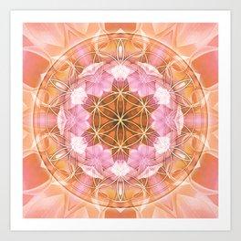 Flower of Life Mandalas 18 Art Print