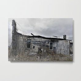 Old Decay Metal Print